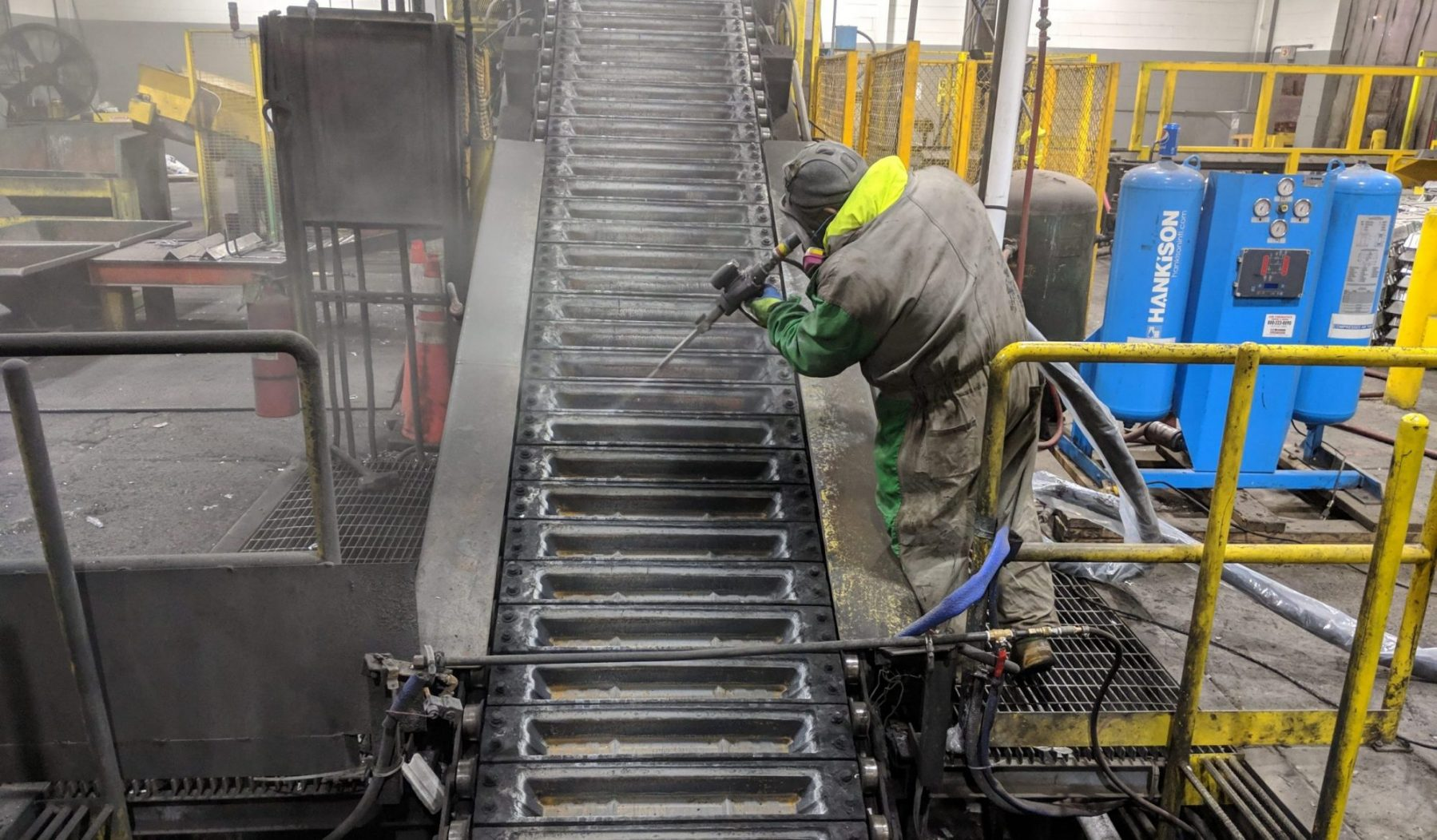 dry ice blasting for foundry