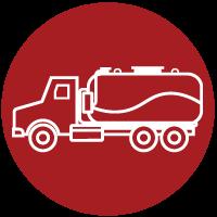 vacuum truck icon